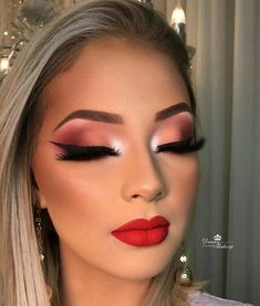 Now that is make-up goalzzz✨✨ Glam Makeup Look, Makeup Eye Looks, Full Face Makeup, Cute Makeup, Gorgeous Makeup, Pretty Makeup, Flawless Makeup, Skin Makeup, Eyeshadow Makeup