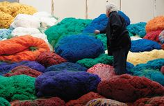 Sheila Hicks creates textile art ranging from minuscule to monumental, and has made her name subverting craft techniques into a unique modern vision.