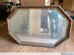 antieke spiegel met geslepen rand en mooie kader 86 x 58 cm Mirror Above Fireplace, Home Decor, Decoration Home, Room Decor, Home Interior Design, Home Decoration, Interior Design