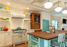 retro-inspired kitchen | QualCraft Construction