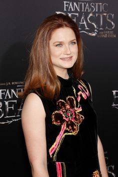 Bonnie Wright at the 'Fantastic Beasts and Where To Find Them' Premiere, New York (2016)