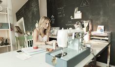 studio of Bre, designer of scout & catalogue fashion accessories.