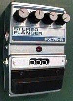 DOD FX75-B Stereo Flanger pedal