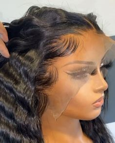 Dope Hairstyles, Beautiful Hairstyles, Ponytail Hairstyles, Hair Ponytail Styles, Curly Hair Styles, Natural Hair Styles, Hair Streaks, Hair Highlights, Remy Hair Wigs