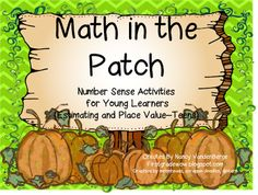 First Grade Wow: Math in the Patch!