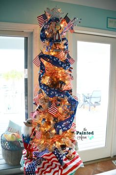 Creations, Red, White & Beach Tree | The Painted Apron