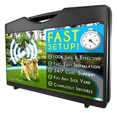 Simple Pet Wireless Electric Dog Fence *** More info @