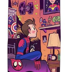 Look at this. It's from @levitzo and it's pure happiness. #spidermanhomecoming #Spideys85kGiveAway #spiderman