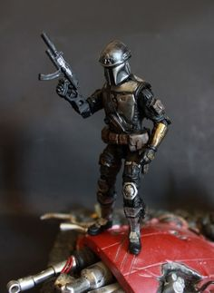 Covert Ops Mandalorian (Star Wars) Custom Action Figure