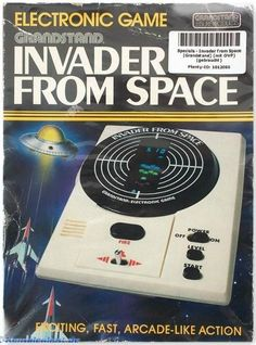 Grandstand Invader From Space electronic game (1980s)