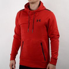 Red Under Armour Hoodie