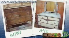 Watch more like Old Dresser Mirror Repurposed