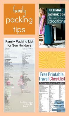 family packing tips
