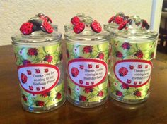 Lady Bug Party Favor!