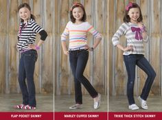 Signature by Levi Strauss & Co.™ has cute styles for every girl!