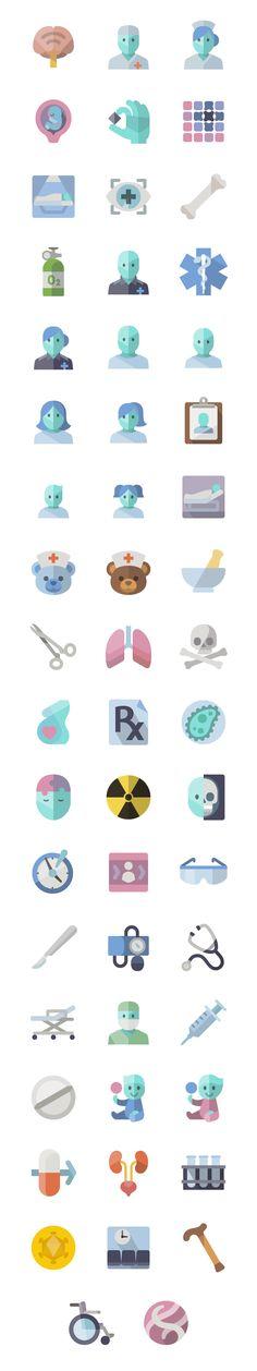 Flat Medical - icon sets