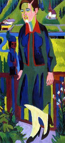 Ernst Ludwig Kirchner - Mujeres en el Baño