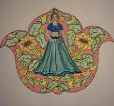 Fashion Design Drawings, Designs To Draw, Art Drawings, Watercolor, Embroidery, Painting, Fashion Drawings, Pen And Wash, Watercolor Painting