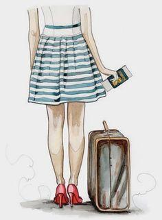 Vk cute illustration, travel illustration, croquis, travel drawing, image v Travel Illustration, Cute Illustration, Travel Clipart, Buch Design, Travel Drawing, Fashion Art, Fashion Today, Girly, Sketches