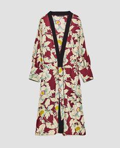 Image 11 of FLORAL PRINT KIMONO from Zara