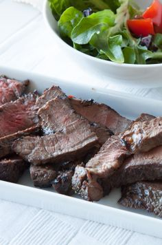 #Epicure Oh Canada Flank Steak #CanadaDay