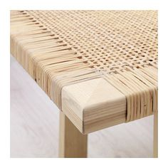 IKEA STOCKHOLM 2017 coffee table Made from rattan and ash, natural materials that age with grace. Rattan Furniture, Living Room Furniture, Home Furniture, Furniture Design, Ikea Stockholm 2017, Table Ikea, Table Bench, Wicker Coffee Table, Chaise Vintage