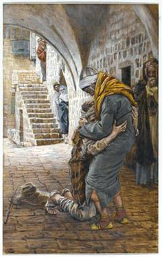 The Return of the Prodigal Son, illustration for 'The Life of Christ' - James Tissot