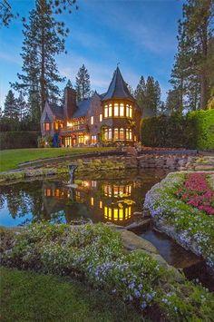 Castle on Lake Tahoe