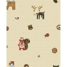 Graham & Brown Kids At Home Multicolor Paper Scenic Wallpaper 50-573