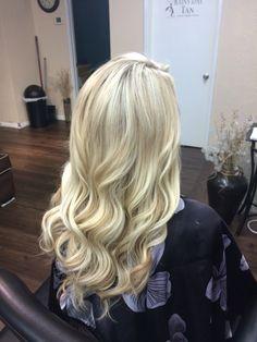 Soft blonde. Keune 3001 with 40vol.