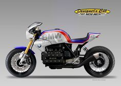 "Racing Cafè: Cafè Racer Concepts - BMW ""Dicke Bertha"" by Oberdan Bezzi Bmw Cafe Racer, Moto Cafe, Cafe Bike, Cafe Racer Motorcycle, Motorcycle Design, Bike Design, Bike Bmw, Bmw Motorcycles, Custom Motorcycles"