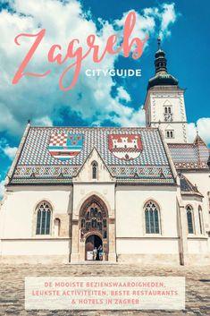 In de Zagreb Cityguide deel ik al mijn tips voor de mooiste bezienswaardigheden, leukste activiteiten, beste restaurants en hotels in Zagreb met je! Restaurants, Hotels, Europe, Mansions, House Styles, Blog, Travel, Viajes, Manor Houses