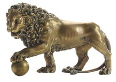 Studio of Giambologna - The Medici Lion - Estimate: $3,000 to $4,000 at the March 15-16 auction at Brunk Auctions