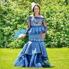 Awesome Collection of Traditional Shweshwe Attire For You - Reny styles
