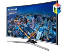 "Smart TV Gamer LED 48"" Samsung UN48J6500 - Full HD Conversor Integrado 4 HDMI 3 USB Wi-Fi"