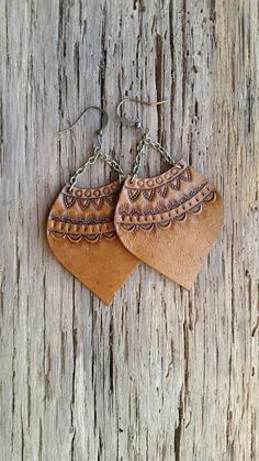 Check out this item in my Etsy shop https://www.etsy.com/listing/573005747/handmade-leather-earrings-leather