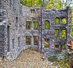 Castle Ruins, Jim Thorpe, Pennsylvania