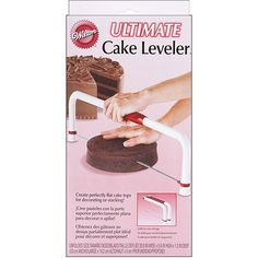 Wilton Ultimate Folding Cake Leveler: Party Supplies : Walmart.com $21.17