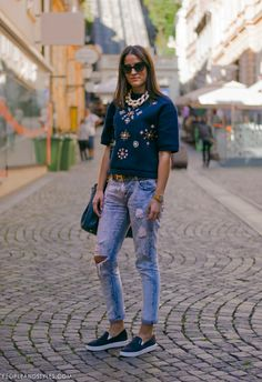 Street Style In Zagreb, image by PEOPLEANDSTYLES.COM