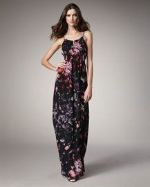 Theory  Exploded Flowers Maxi Dress