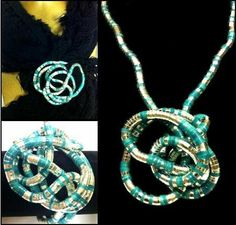 36 inches long 5mm Thick Flexible Bendable Stainless Steel Snake Bendy Jewelry Necklace Bracelet Scarf Holder Chain Twistable Shape Design Silver Turquoise Striped Finish -Ships from USA Trendy Bendy,http://www.amazon.com/dp/B006WQJ9H6/ref=cm_sw_r_pi_dp_ygSFtb1BK92ZRY12