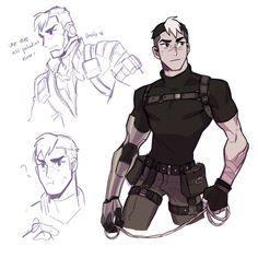 voltron legendary defender | shiro