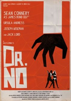Alain Bossuyt James Bond Posters