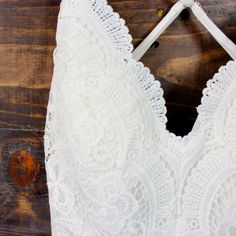 x shophearts - tie dye watercolor crochet open back romper