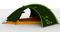 biomimetic tent design - designboom | architecture