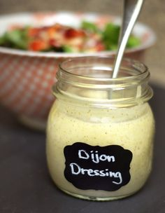 Honey Dijon Dressing! An upgrade from classic Honey Mustard dressing, this version features a complex blend of ginger, garlic and honey– an unexpected combination that makes my taste buds rejoice with each bite.