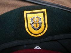 US Airborne , Ranger , SF berets