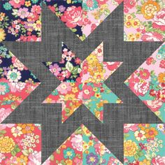 Hi, it's Kristina from Center Street Quilts here to share a super simple (but equally striking) quilt with you today. The Regent Street Star quilt was created with two goals in … Big Block Quilts, Star Quilt Blocks, Star Quilt Patterns, Star Quilts, Easy Quilts, Scrappy Quilts, Patchwork Patterns, Half Square Triangle Quilts, Square Quilt