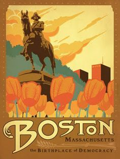 Flyer Goodness: Classic American Travel Posters by the Anderson Design Group