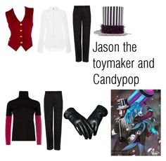 """Jason the toymaker and Candypop"" by creepypasta-supernatural77 ❤ liked on Polyvore featuring moda, St. John, 3.1 Phillip Lim, Rosie Assoulin, Diane Von Furstenberg, Melrose International, MaxMara, women's clothing, women y female"